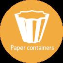 食品容器(紙製容器)